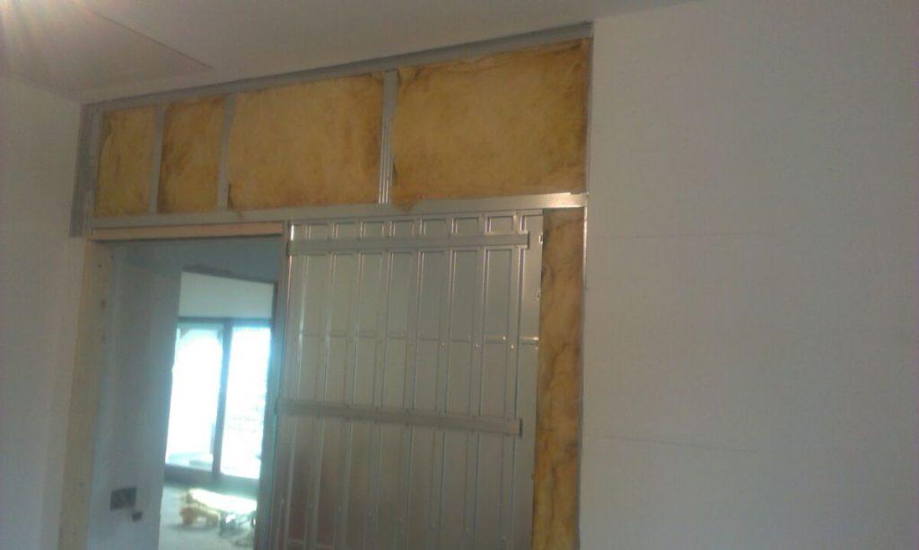 Izdelava predelne stene